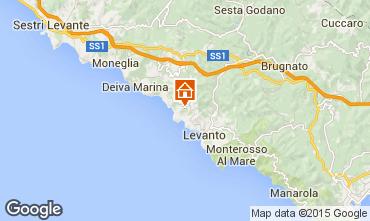 Mappa Bonassola Casa 83335