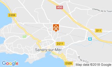 Mappa Sanary Appartamento 117383