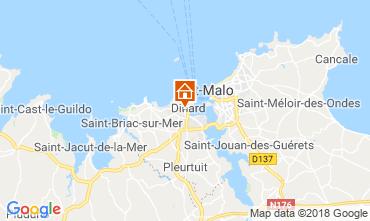 Mappa Dinard Casa 117541
