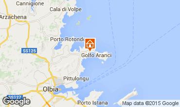 Mappa Golfo Aranci Appartamento 83857