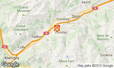Mappa Nendaz Chalet 4726