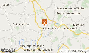Mappa Le Bugue Casa 11882