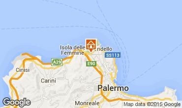 Mappa Mondello Appartamento 92464