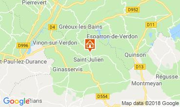 Mappa Gréoux Les Bains Casa 93624