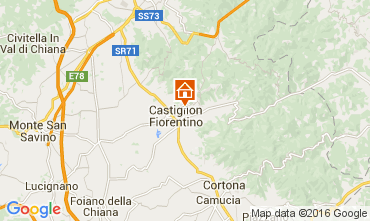 Mappa Arezzo Villa  11865