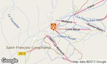 Mappa Saint François Longchamp Appartamento 64015