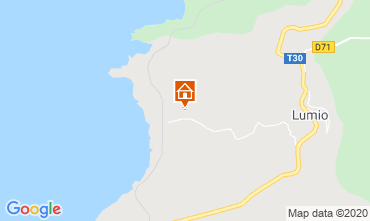 Mappa Lumio Appartamento 116280