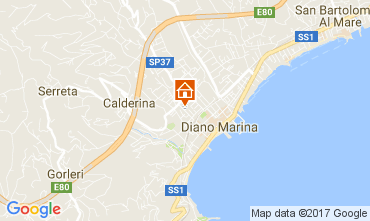 Mappa Diano Marina Appartamento 70030