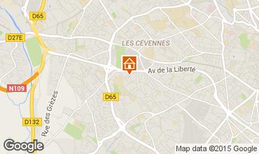 Mappa Montpellier Villa  76051