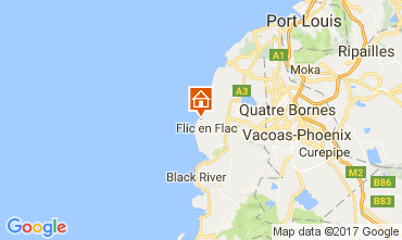 Mappa Flic-en-Flac Appartamento 111737