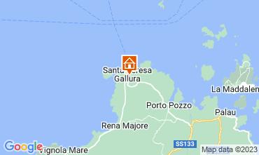 Mappa Santa Teresa di Gallura Villa  110589