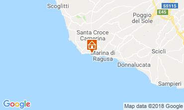 Mappa Marina di Ragusa Appartamento 81847
