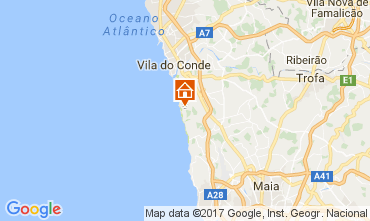 Mappa Vila do Conde Villa  110247