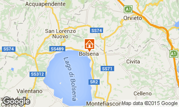 Mappa Bolsena Appartamento 68515