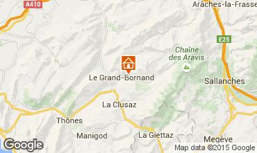 Mappa Le Grand Bornand Appartamento 1360