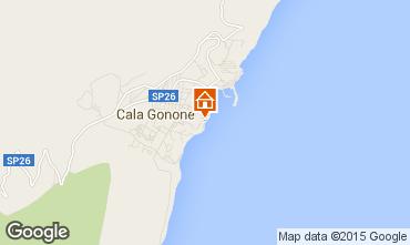 Mappa Cala Gonone Monolocale 100436