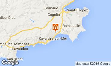 Mappa Cavalaire-sur-Mer Villa  102507