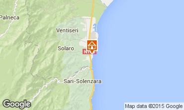 Mappa Solenzara Villa  96837