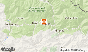 Mappa Valberg Chalet 101307