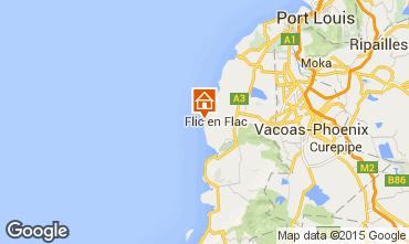 Mappa Flic-en-Flac Appartamento 73918