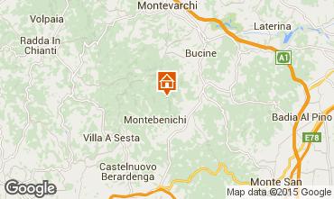 Mappa Siena Villa  75874
