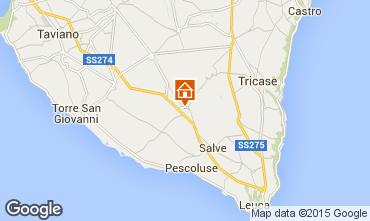 Mappa Pescoluse Appartamento 85022