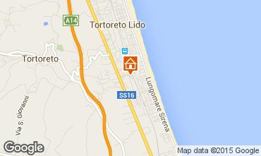 Mappa Tortoreto Appartamento 42623