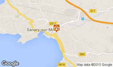 Mappa Sanary Appartamento 93899
