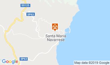 Mappa Santa Maria Navarrese Villa  118243