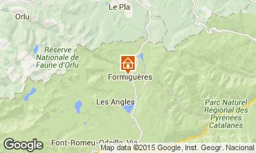 Mappa Formiguères Casa 4013