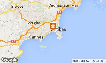 Mappa Juan les Pins Appartamento 82884