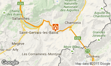 Mappa Chamonix Mont-Blanc (Monte Bianco) Appartamento 22897