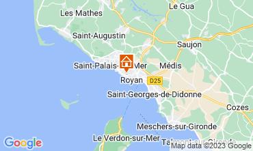 Mappa Royan Appartamento 6855