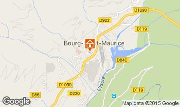 Mappa Bourg saint Maurice Appartamento 75709