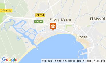 Mappa Rosas Appartamento 77609