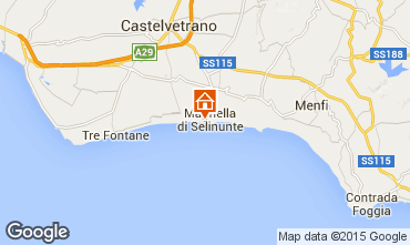 Mappa Castelvetrano Selinunte Appartamento 62402