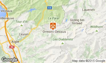 Mappa Les Diablerets Appartamento 4732