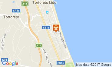 Mappa Tortoreto Appartamento 77121
