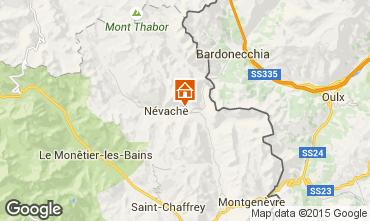 Mappa N�vache Chalet 64079