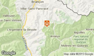 Mappa Arvieux en Queyras Chalet 79860