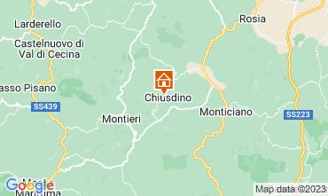 Mappa San Gimignano Appartamento 73261