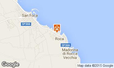 Mappa San Foca Appartamento 96428