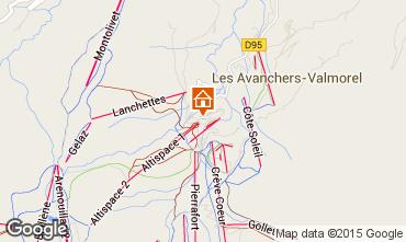 Mappa Valmorel Appartamento 27090