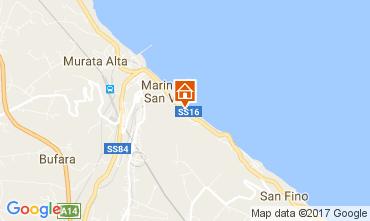 Mappa San Vito Chietino Appartamento 69058