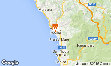 Mappa Marina di Tortora Monolocale 69502