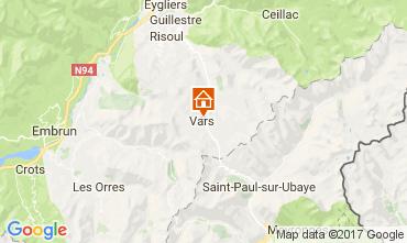 Mappa Vars Chalet 111470