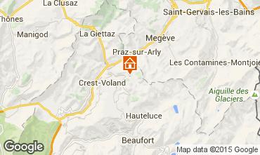 Mappa Notre Dame de Bellecombe Chalet 90657