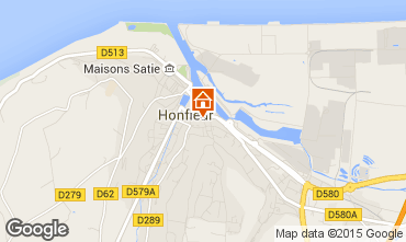 Mappa Honfleur Appartamento 46803