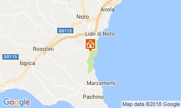 Mappa Noto Villa  114612