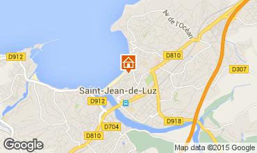 Mappa Saint Jean de Luz Appartamento 89774